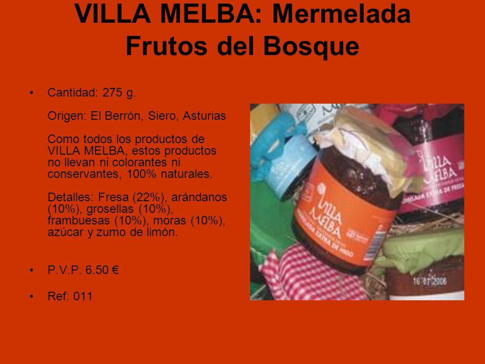 VILLA MELBA: Mermelada Frutos del Bosque