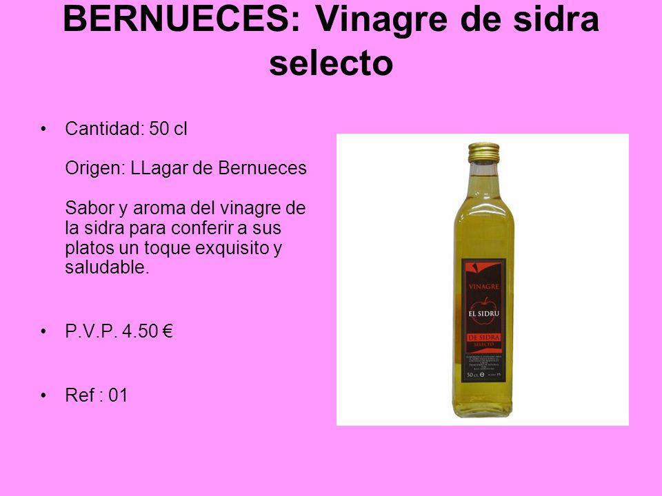 BERNUECES: Vinagre de sidra selecto