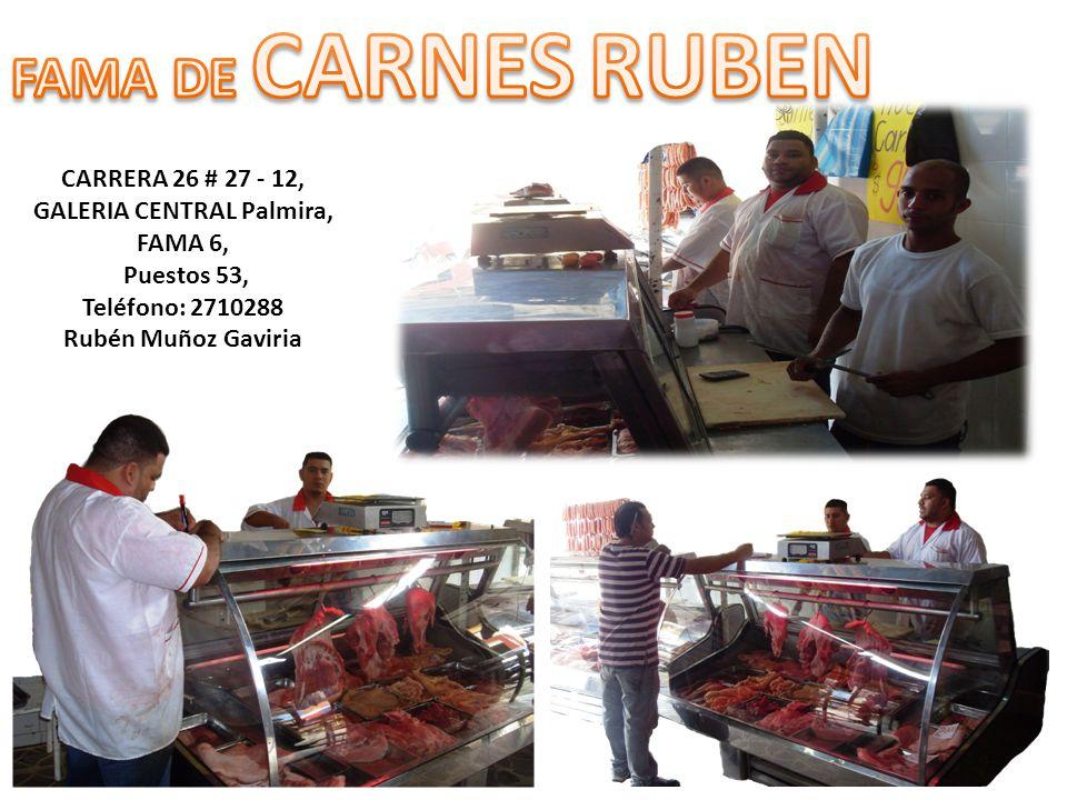 CARRERA 26 # 27 - 12, GALERIA CENTRAL Palmira, FAMA 6,