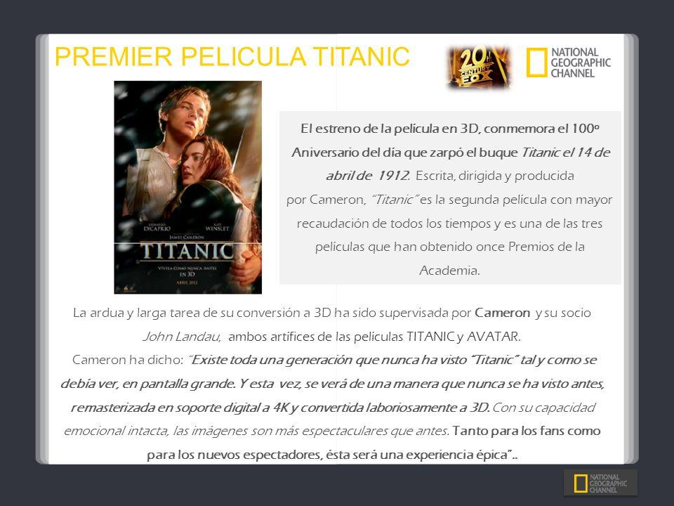 PREMIER PELICULA TITANIC