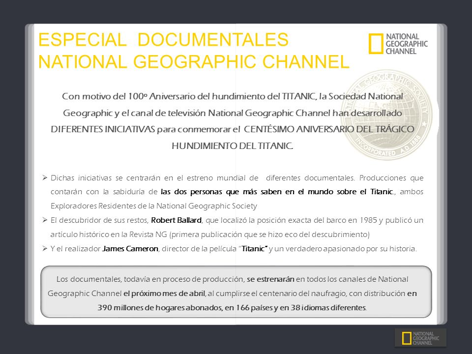 ESPECIAL DOCUMENTALES NATIONAL GEOGRAPHIC CHANNEL