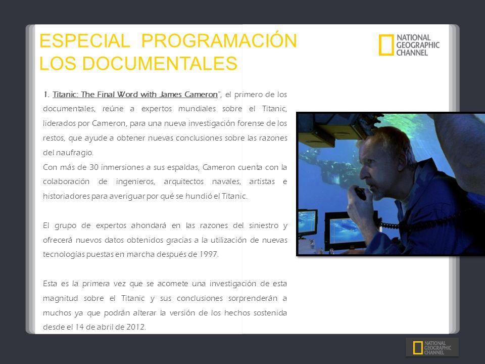 ESPECIAL PROGRAMACIÓN LOS DOCUMENTALES