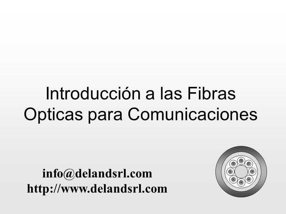 Introducción a las Fibras Opticas para Comunicaciones