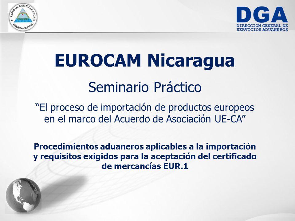 EUROCAM Nicaragua Seminario Práctico