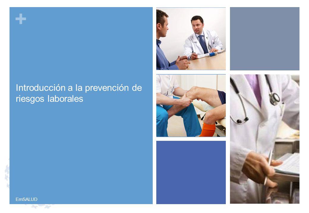 Introducción a la prevención de riesgos laborales
