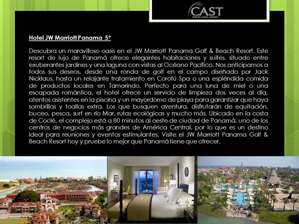 Hotel JW Marriott Panama 5*