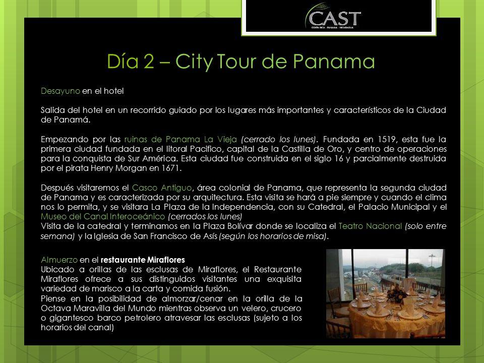 Día 2 – City Tour de Panama