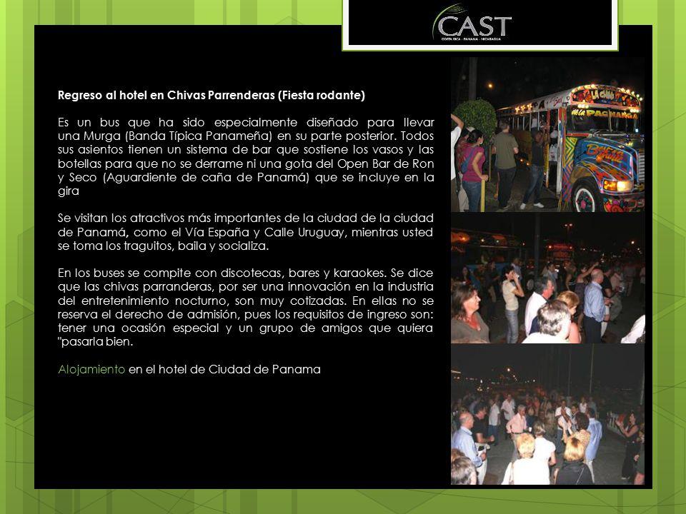 Regreso al hotel en Chivas Parrenderas (Fiesta rodante)