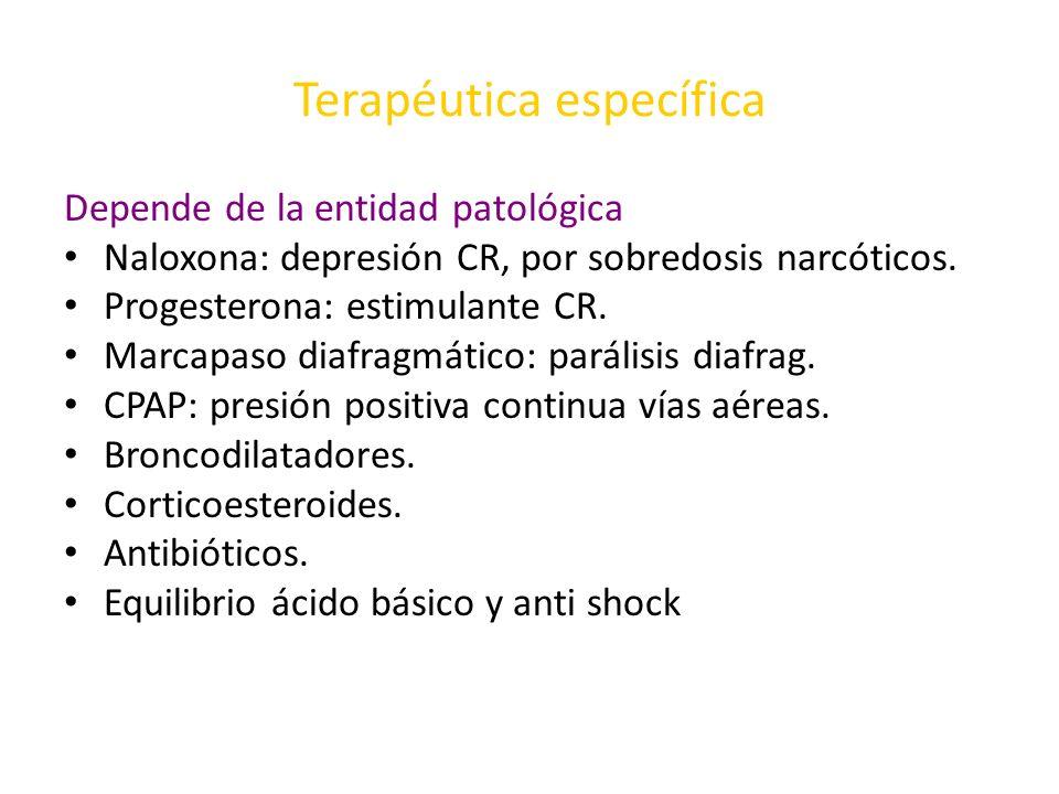 Terapéutica específica