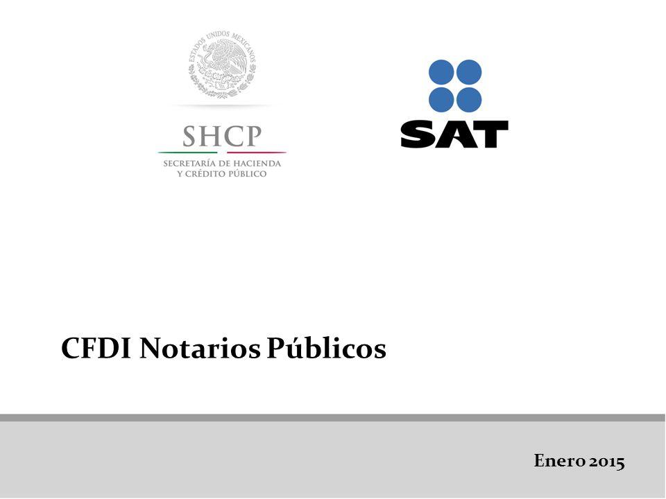 CFDI Notarios Públicos