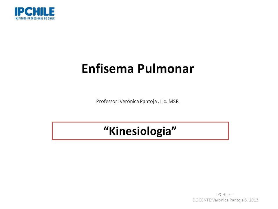 Enfisema Pulmonar Kinesiologia
