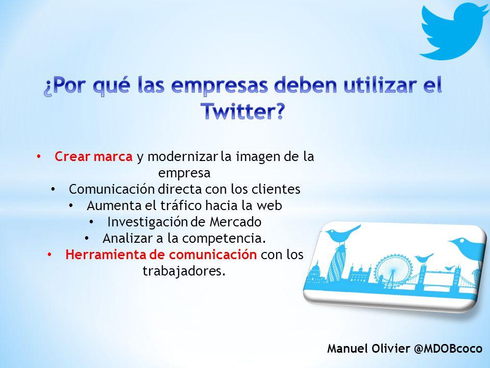 ¿Por qué las empresas deben utilizar el Twitter