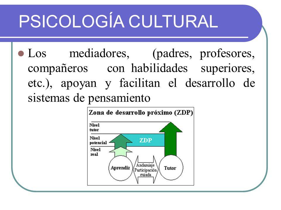 PSICOLOGÍA CULTURAL