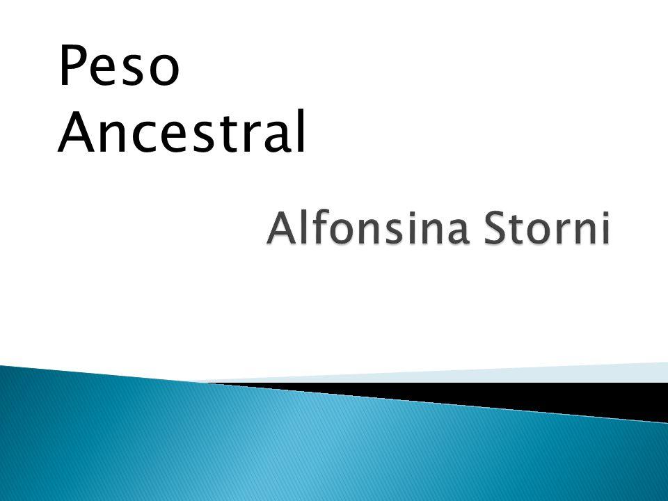 Peso Ancestral Alfonsina Storni