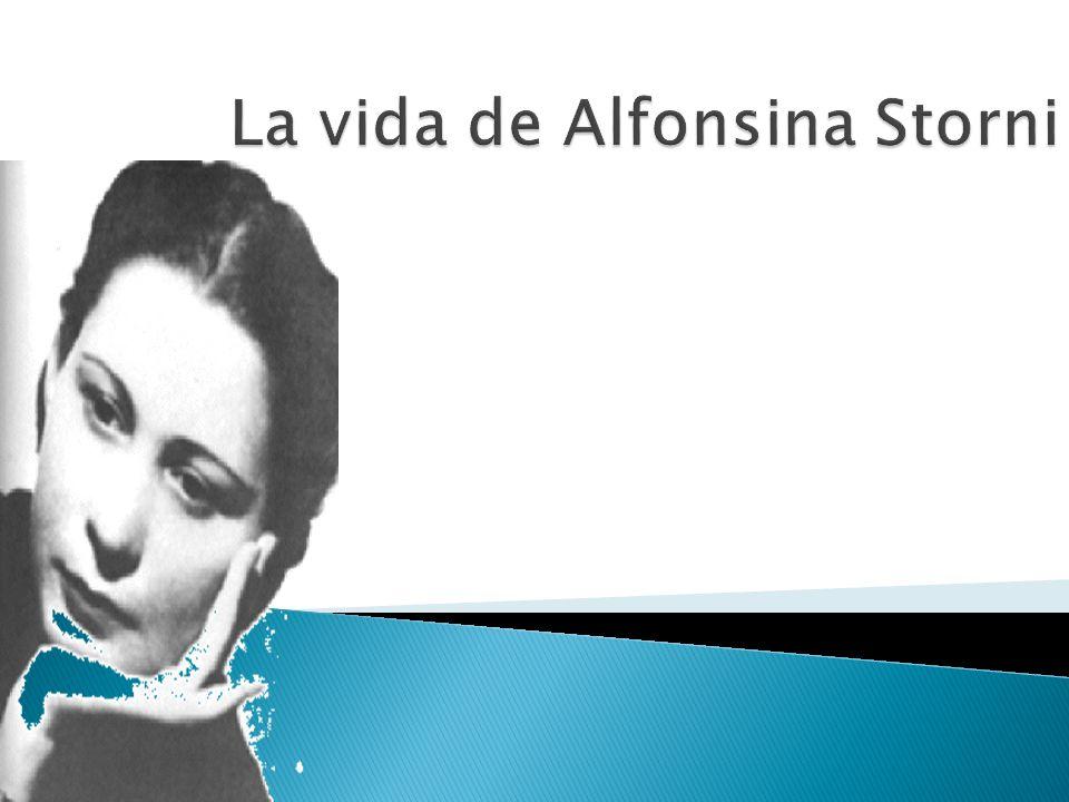 La vida de Alfonsina Storni