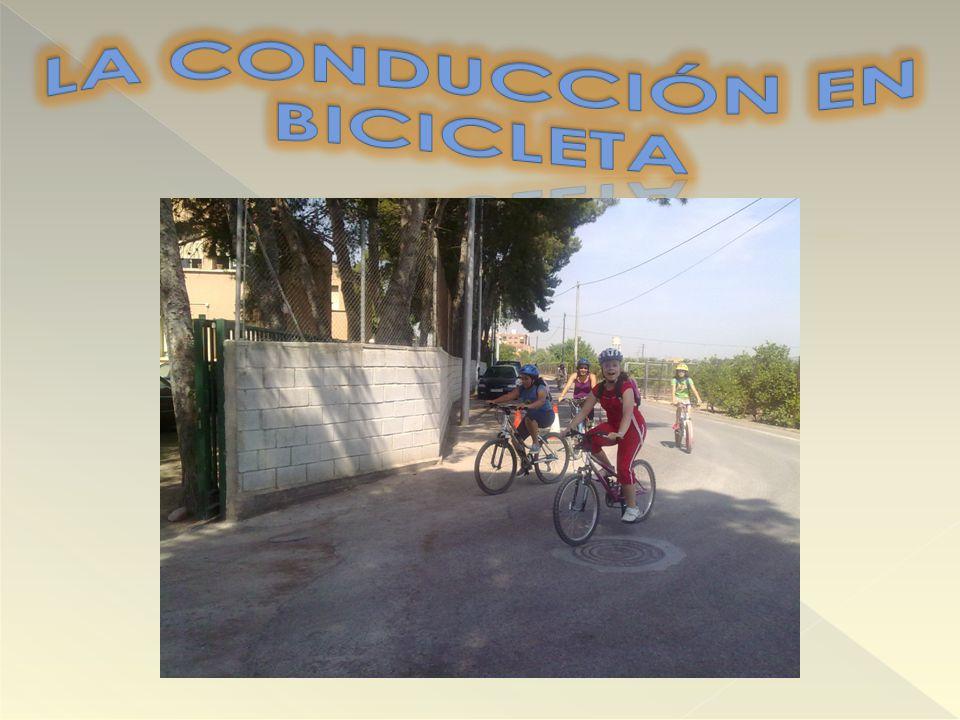 LA CONDUCCIÓN EN BICICLETA