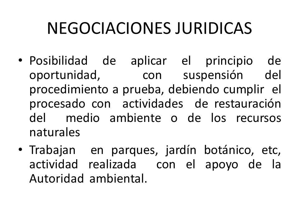 NEGOCIACIONES JURIDICAS