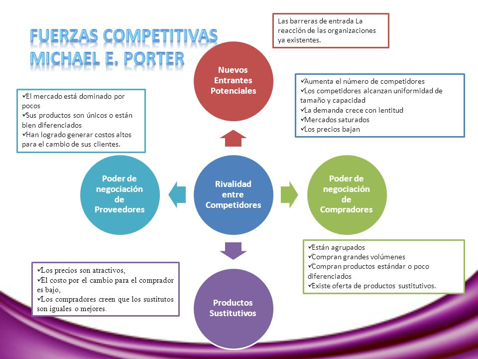 Fuerzas Competitivas Michael E. Porter