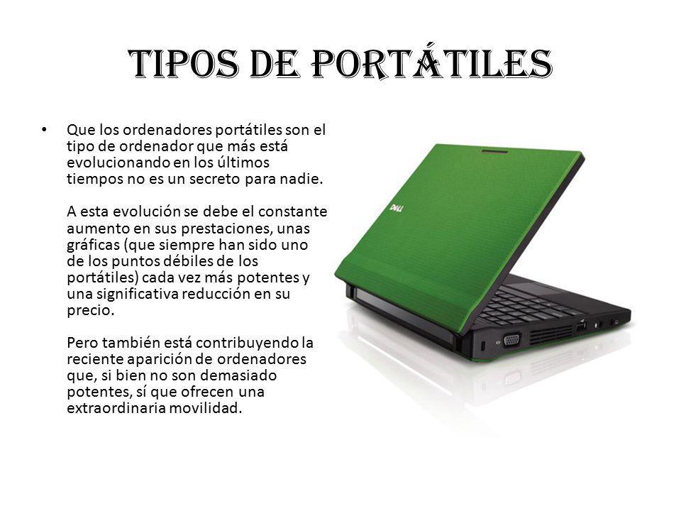 Tipos de portátiles