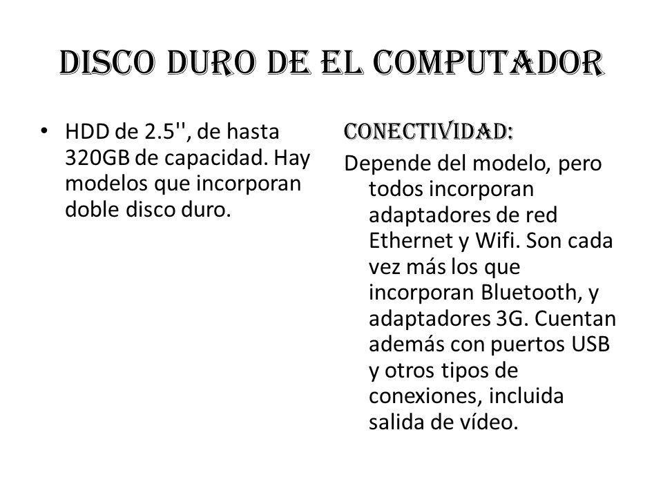 Disco duro de el computador
