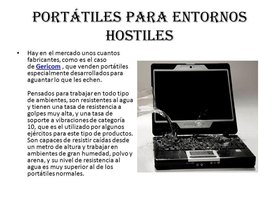 Portátiles para entornos hostiles