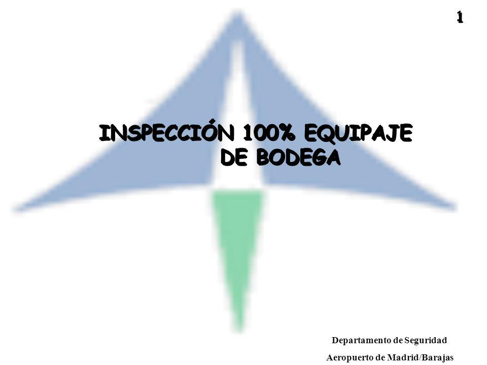 Departamento de Seguridad Aeropuerto de Madrid/Barajas