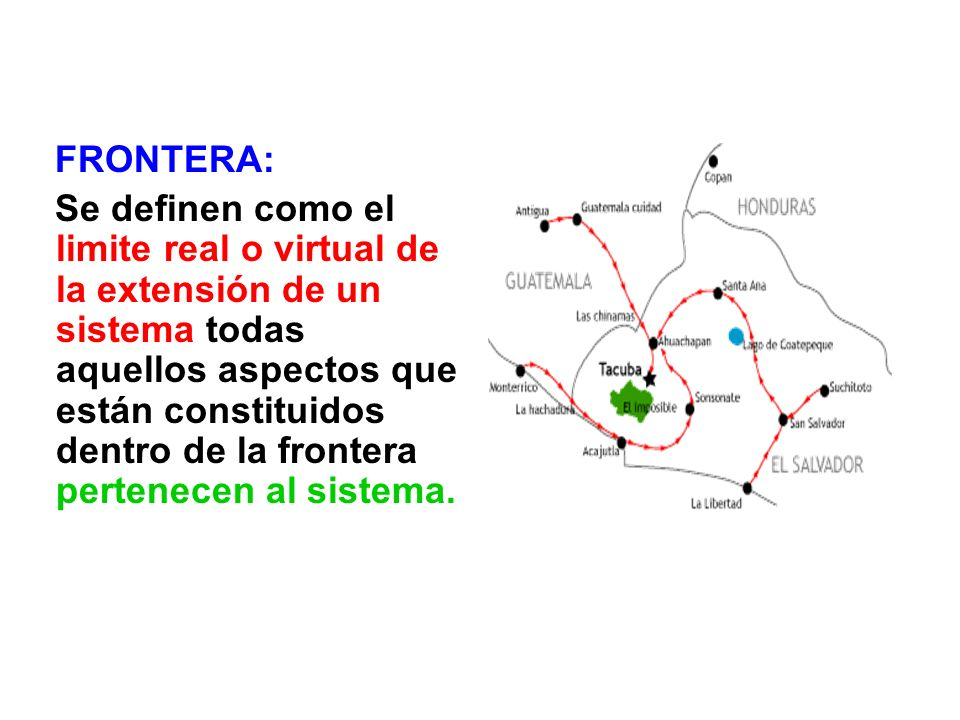 FRONTERA: