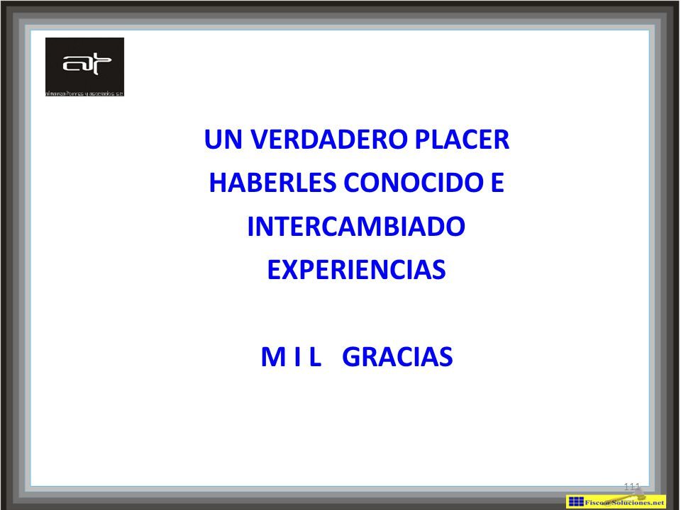 UN VERDADERO PLACER HABERLES CONOCIDO E INTERCAMBIADO EXPERIENCIAS