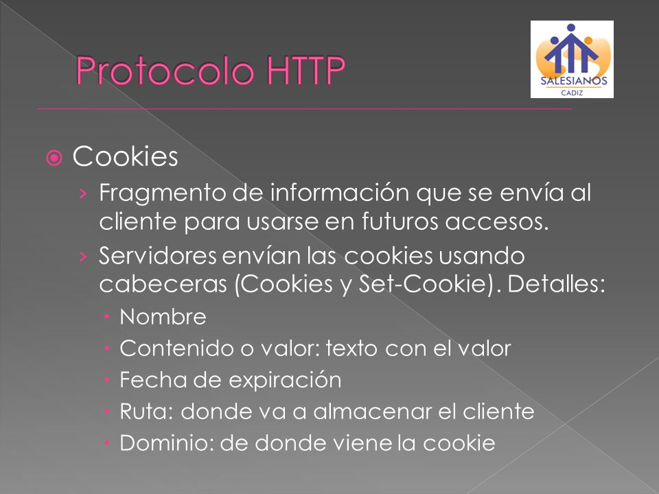 Protocolo HTTP Cookies