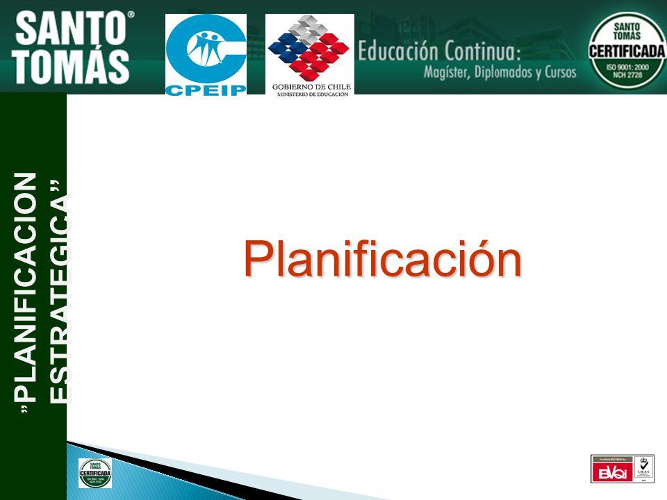 PLANIFICACION ESTRATEGICA