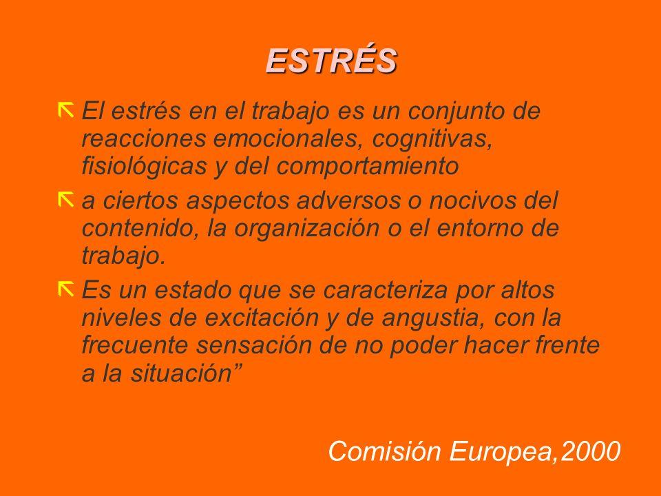 ESTRÉS Comisión Europea,2000