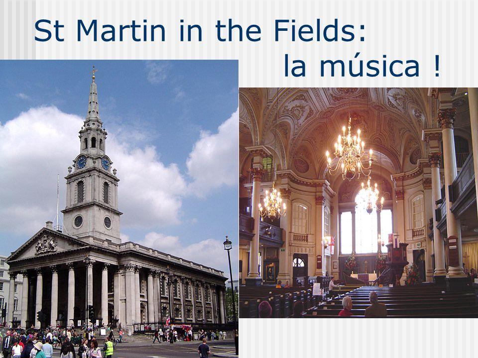 St Martin in the Fields: la música !