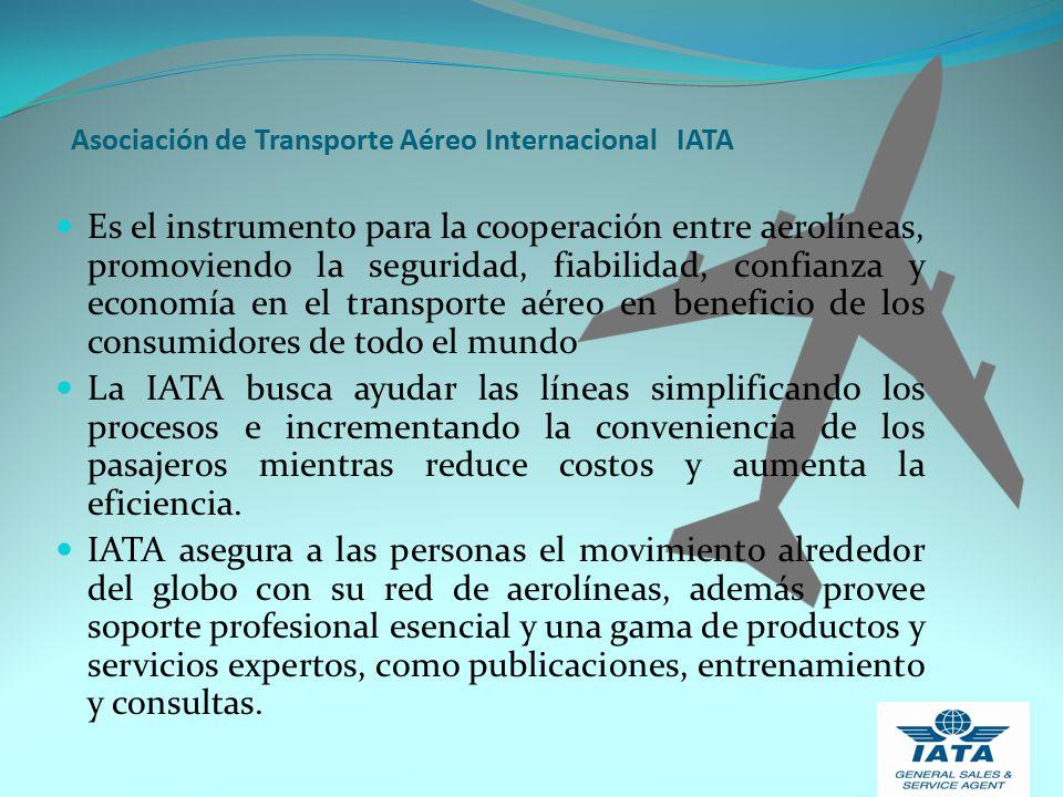 Asociación de Transporte Aéreo Internacional IATA