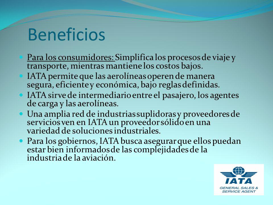 Beneficios Para los consumidores: Simplifica los procesos de viaje y transporte, mientras mantiene los costos bajos.