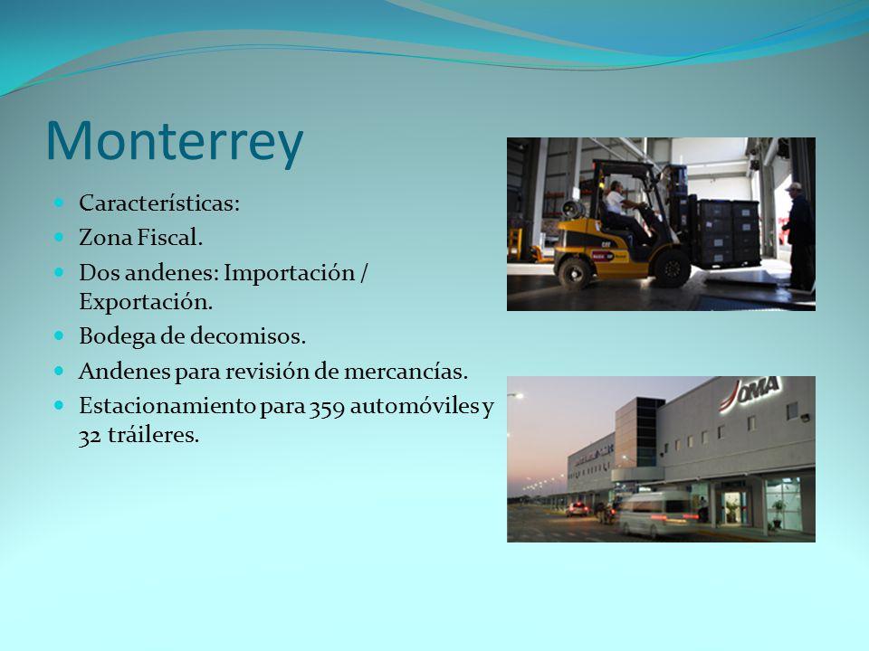 Monterrey Características: Zona Fiscal.