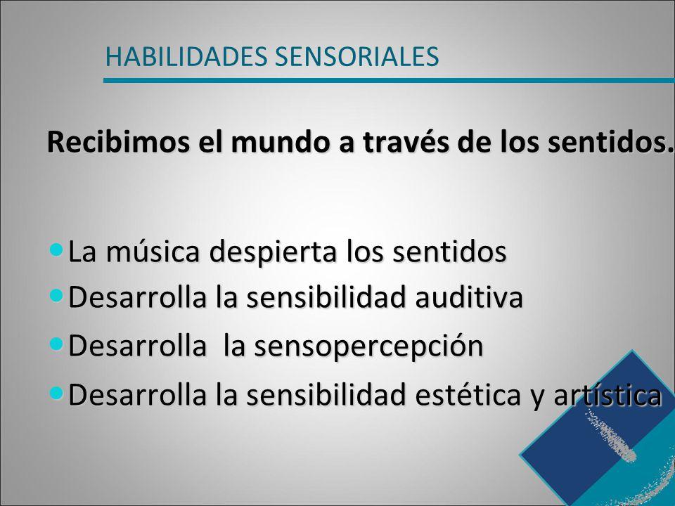HABILIDADES SENSORIALES