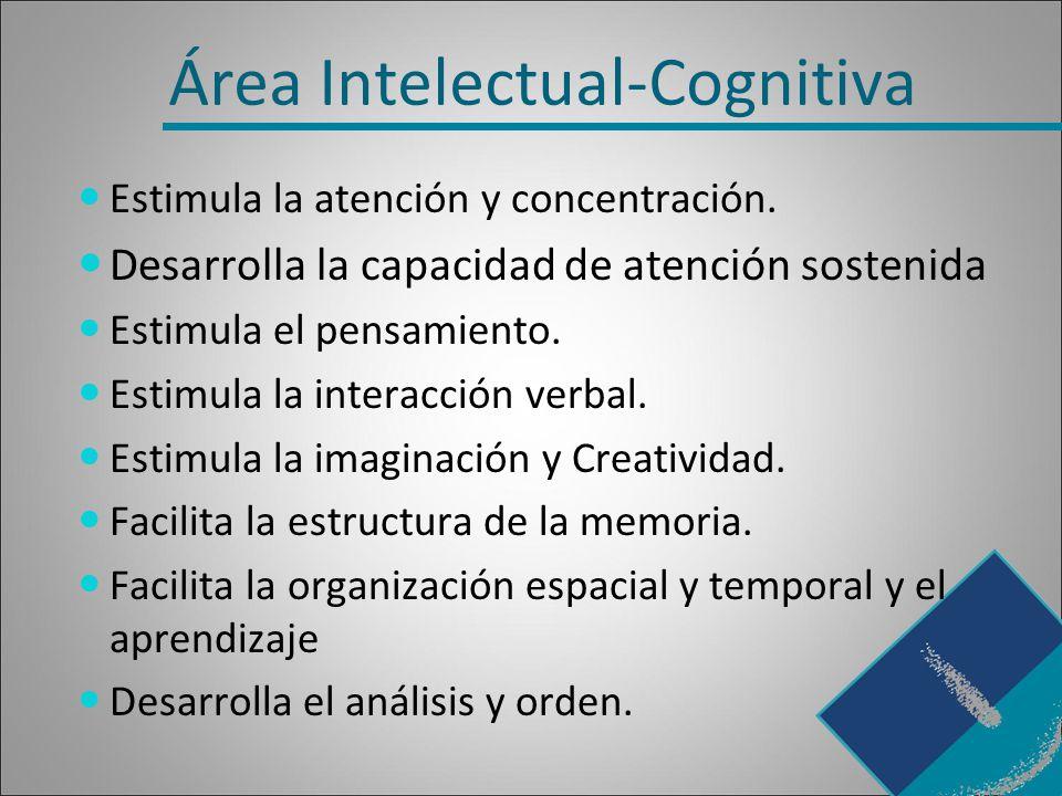 Área Intelectual-Cognitiva