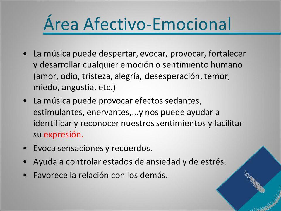 Área Afectivo-Emocional