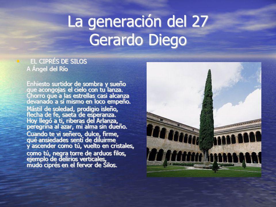 La generación del 27 Gerardo Diego