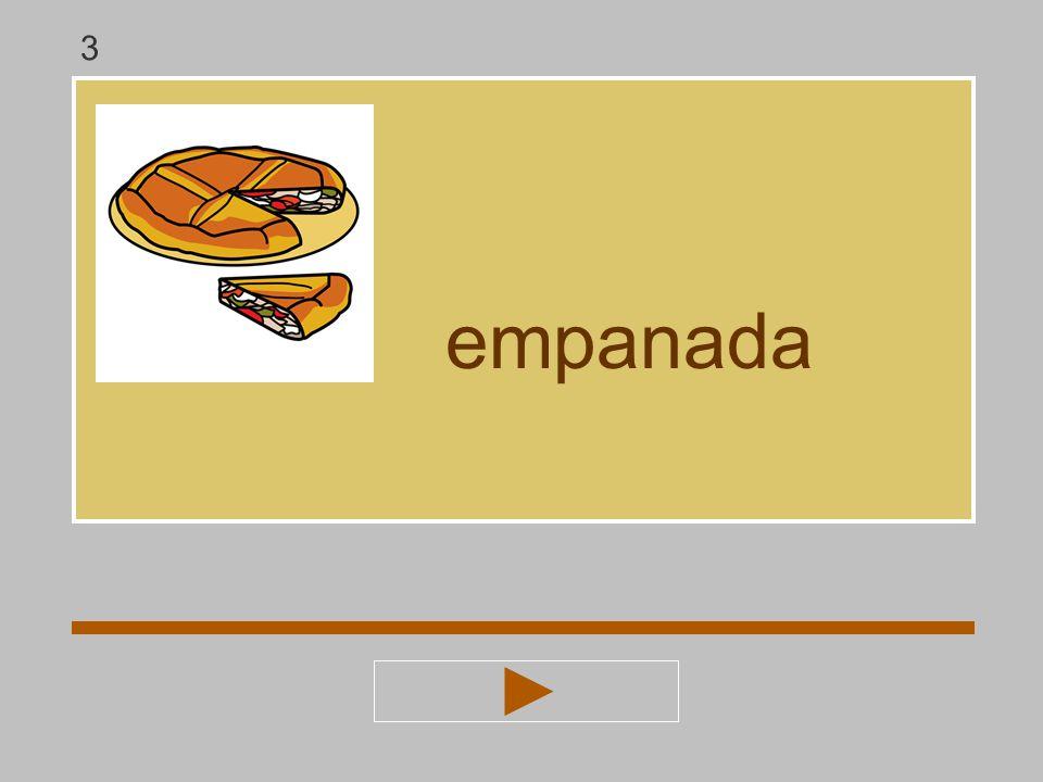3 empanada