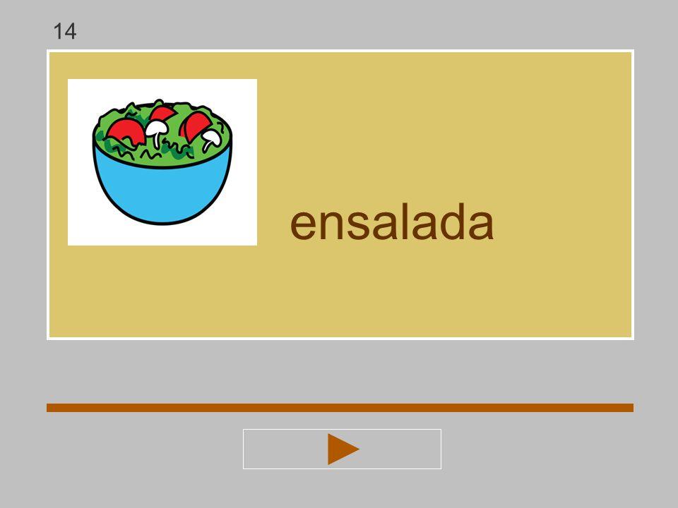 14 ensalada
