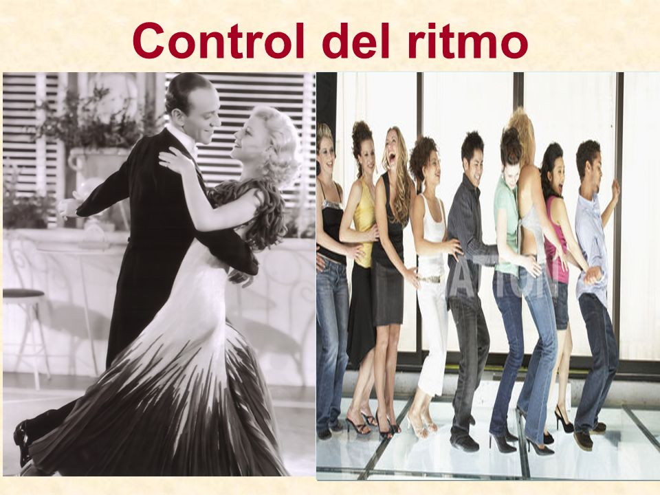 Control del ritmo
