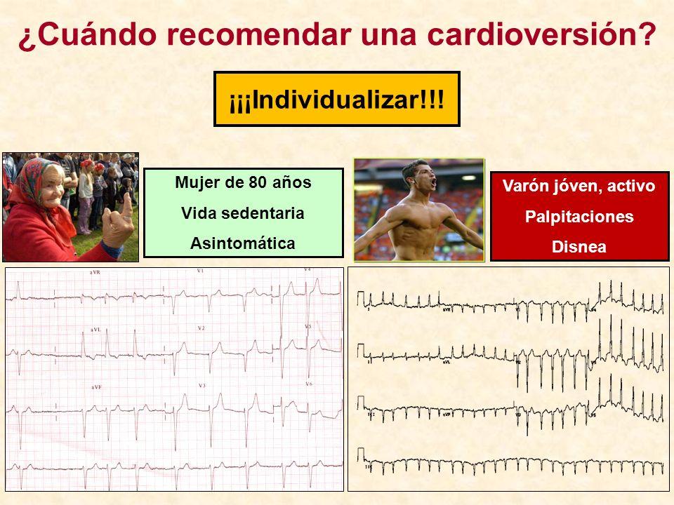 ¿Cuándo recomendar una cardioversión