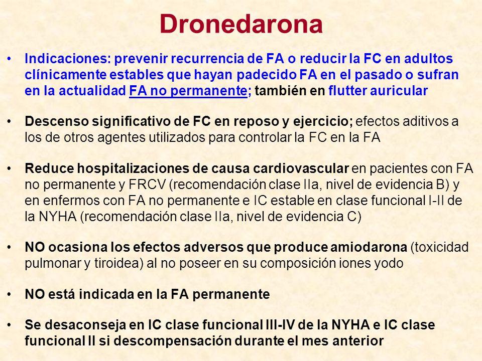 Dronedarona