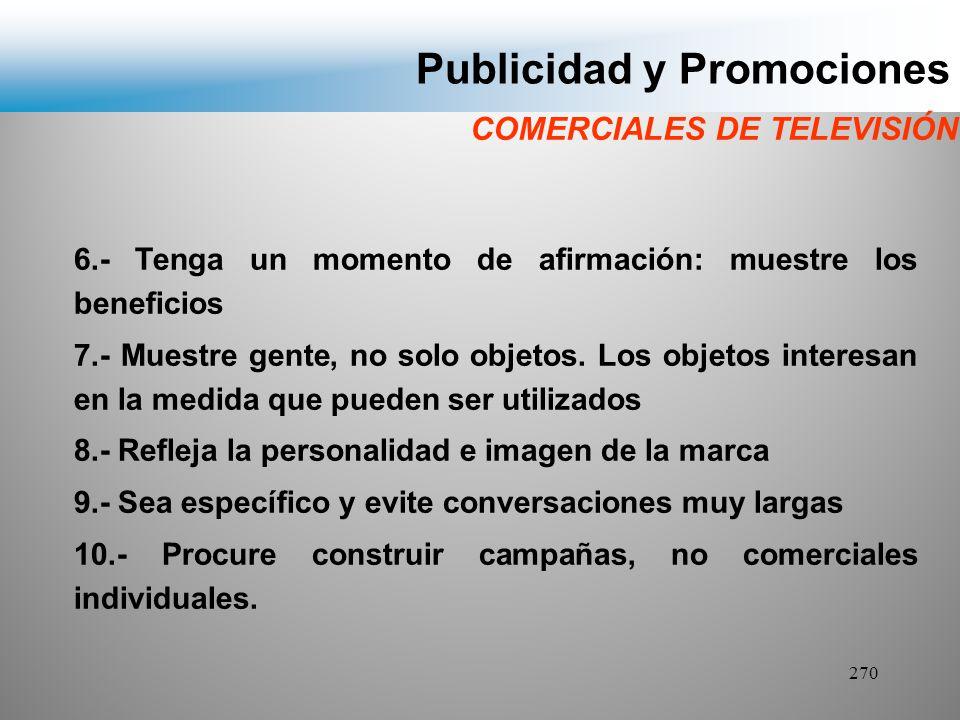 Publicidad y Promociones