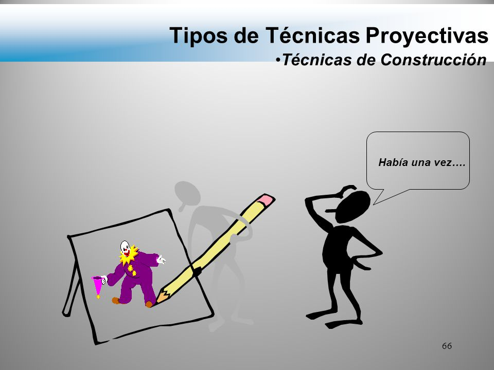 Tipos de Técnicas Proyectivas