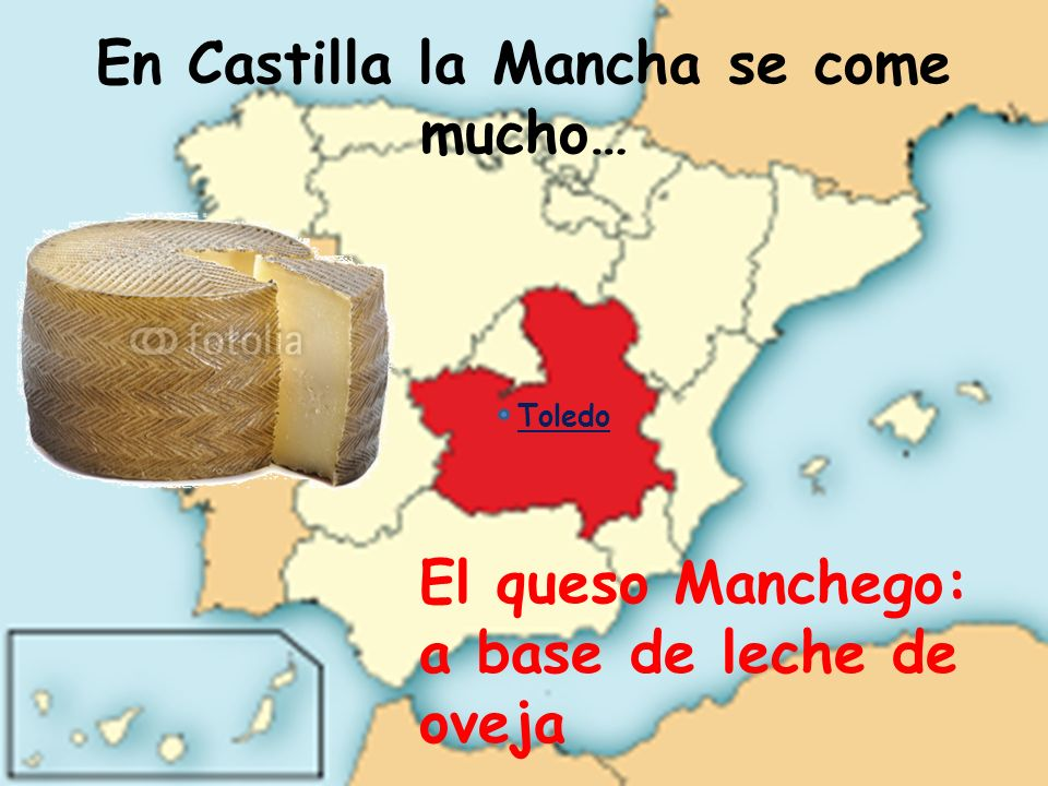 En Castilla la Mancha se come mucho…