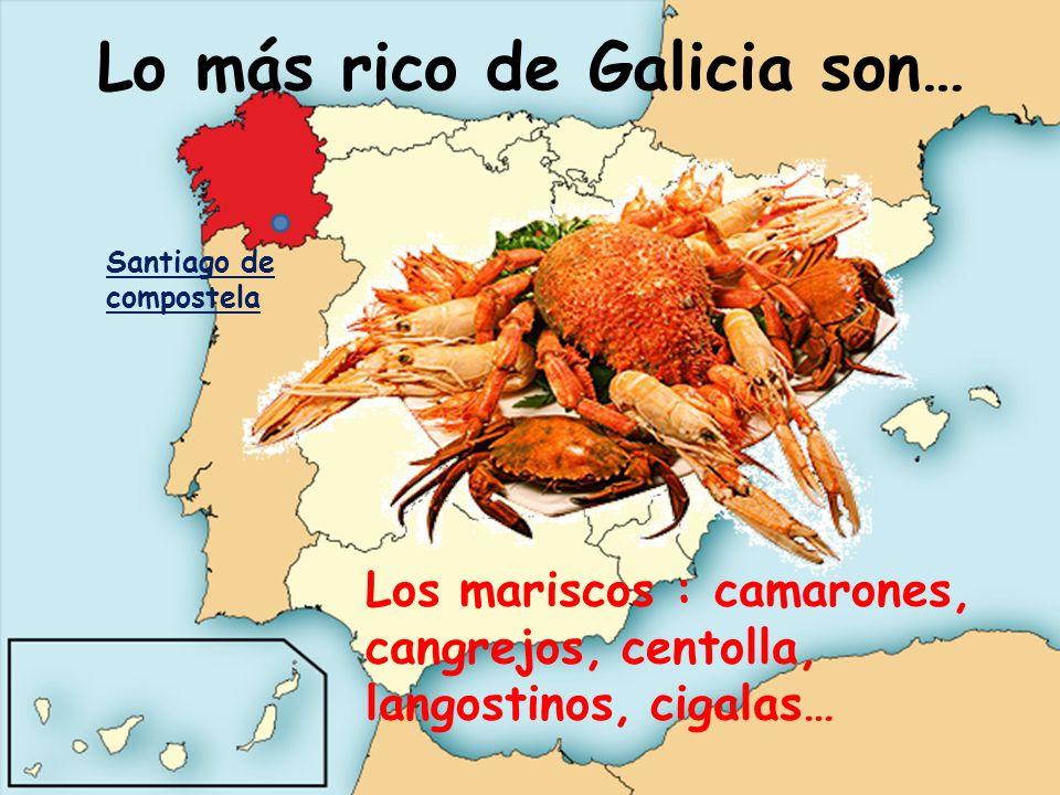 Lo más rico de Galicia son…