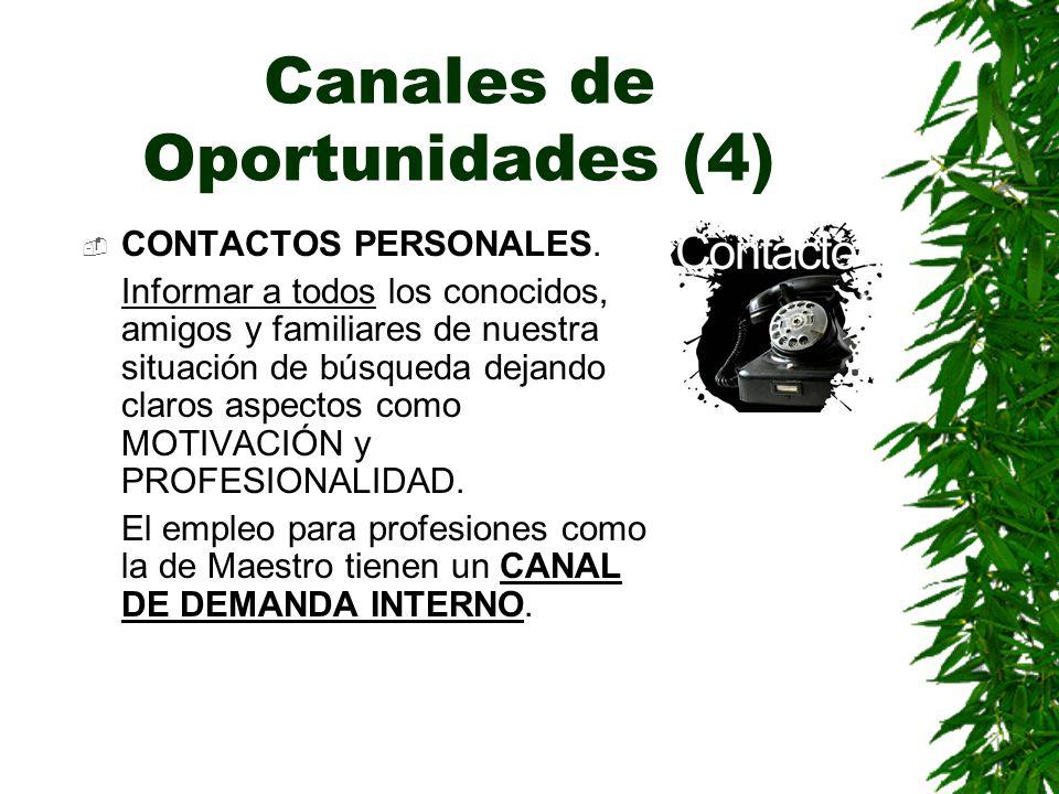 Canales de Oportunidades (4)