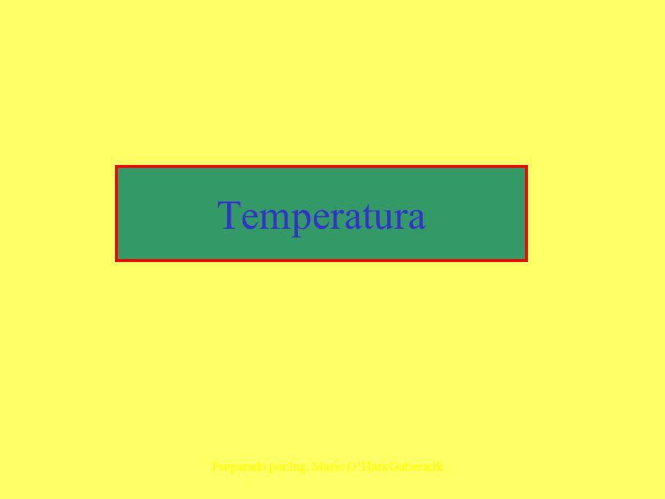 Temperatura Preparado por Ing. Mario O'Hara Gaberscik